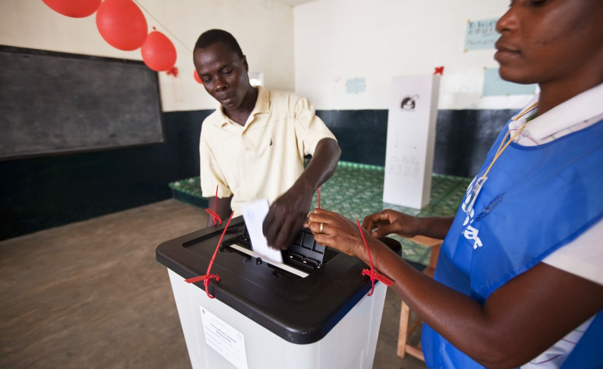 Flash Back: Liberian voting during the last elections