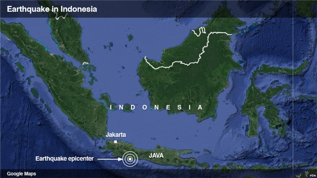 At least 1 dead as 6.5 magnitude natural disaster strikes Indonesia