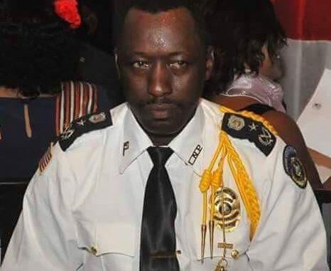 Col. Abraham S. Kromah, Liberia's Deputy Inspector General of Police for Operations