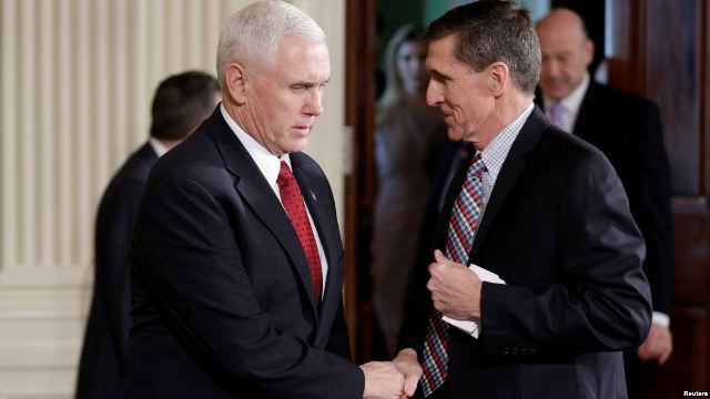 Trump Defends National Security Adviser He Ousted -