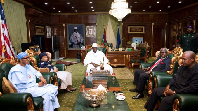 ECOWAS Leaders IDiscussing Situation In The Gambia