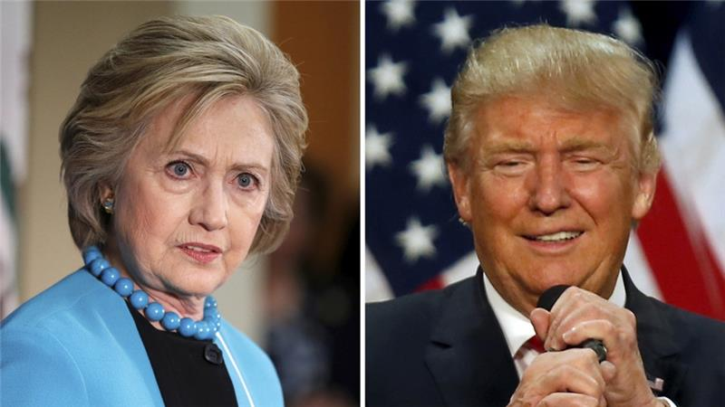 """Many in the US describe themselves as """"frustrated"""" and """"disgusted"""" with the 2016 election campaign [Reuters]"""