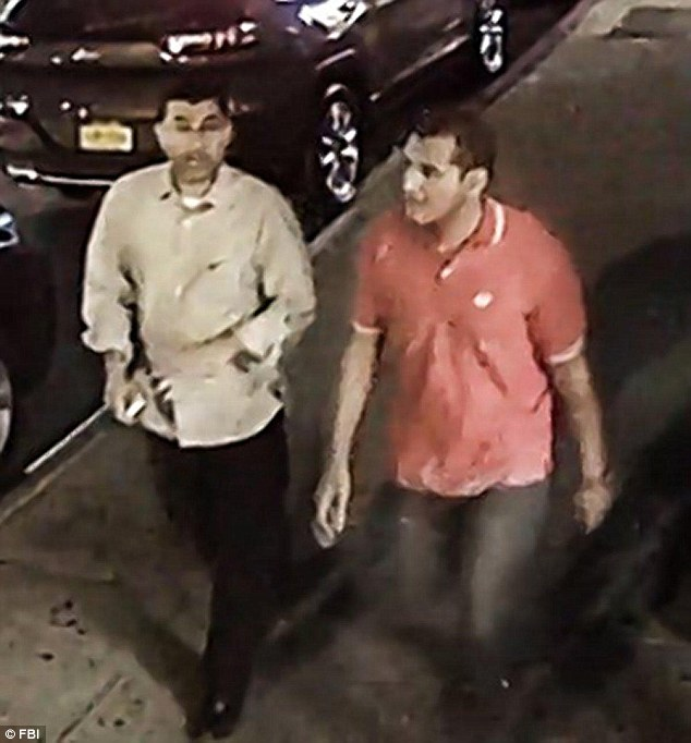 Hassan Ali and Abou Bakr Radwan (pictured) found an unexploded pressure cooker bomb in New York City in September and took it out of a bag, according to EgyptAir officials