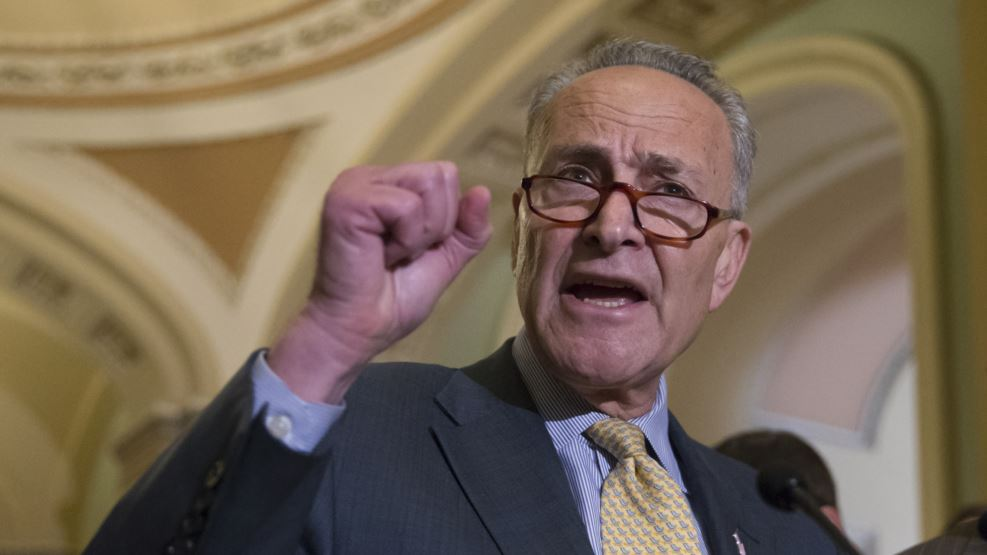 VOA FILE - Sen. Charles Schumer of New York, the incoming Democratic leader.