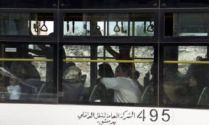 Second wave of Syrians evacuated from Darayya arrives to Damascus