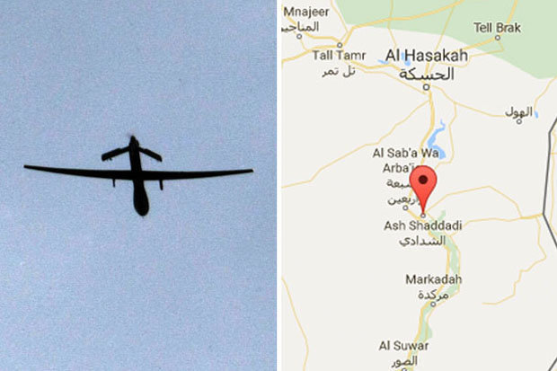 CRASHED: ISIS claim to have downed a US drone aircraft