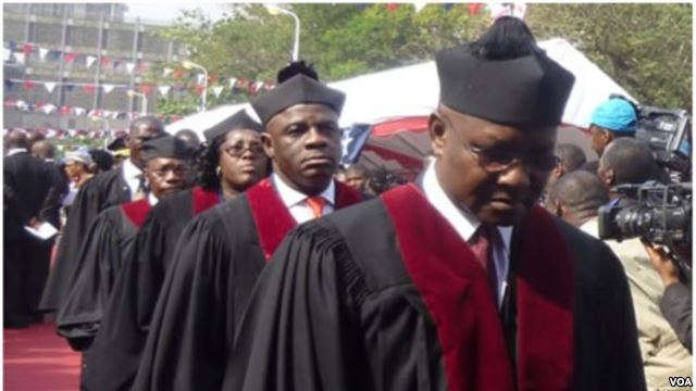 Full Bench Of The Supreme Court Of Liberia