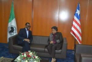 AFDB Pres. Dr. Adesina and Pres. In a Chat ahead of the Replenishment Meeting (1)