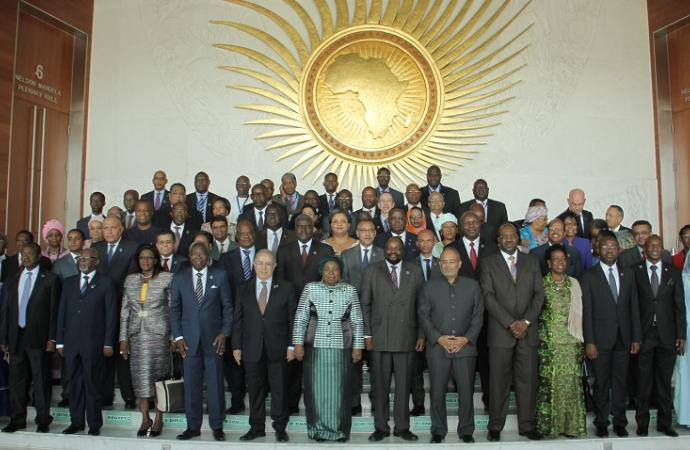 Members and leaders of the African Union