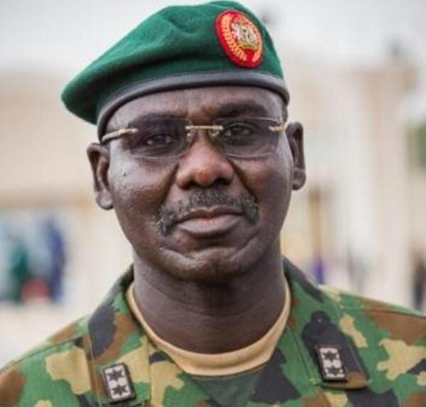 Major General Tukur Yusuf Buratai as Chief of Army Staff Nigerian Army