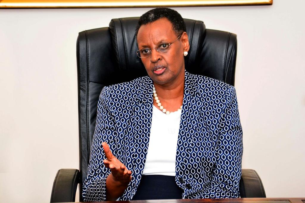 Ugandan minister of education and sports, Janet Museveni