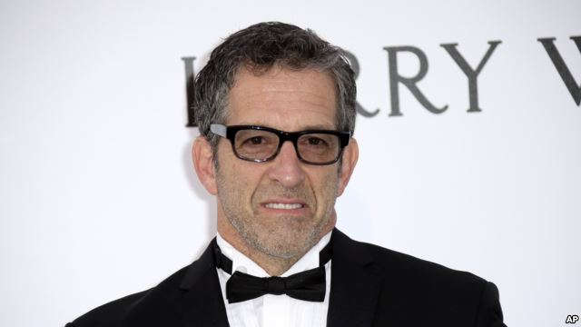 FILE - Designer Kenneth Cole, pictured at the amfAR Cinema Against AIDS benefit at the Cannes international film festival, May 19, 2016, was one of the first celebrities to speak out publicly about HIV, which hit the fashion industry hard in the 1980s.
