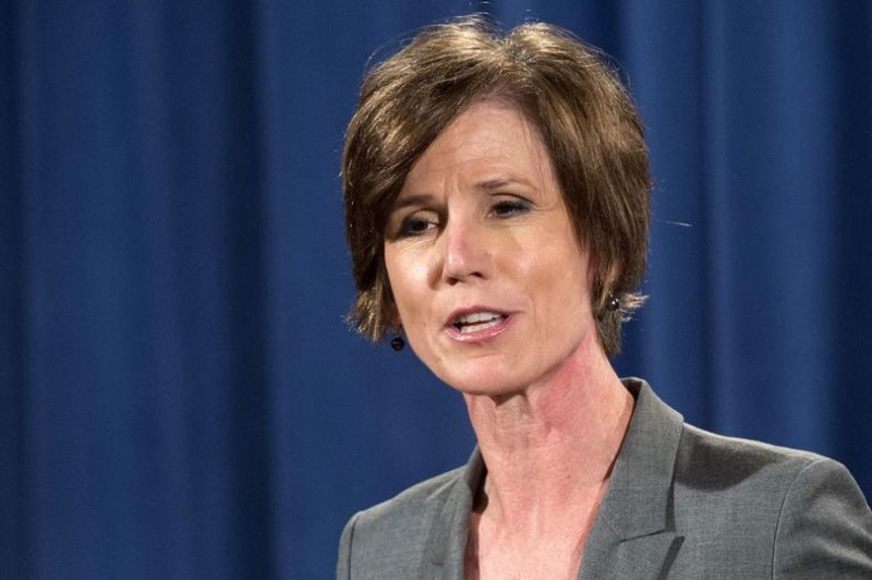 "Sally Yates has lashed out at President Donald Trump's claims that he ""inherited a mess"" (Photo: AFP)"