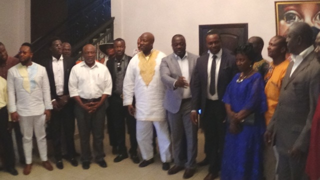 Group Picture with Mr. Mr. Christian Nnoli (In black  necktie), GBR-Nigeria
