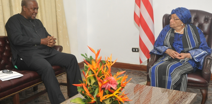 Ghanaian Leader and the President of Liberia