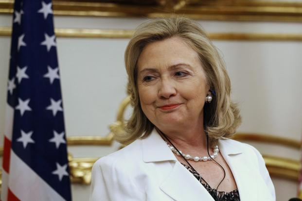 Democratic presidential nominee Hillary Clinton. Photo: Reuters