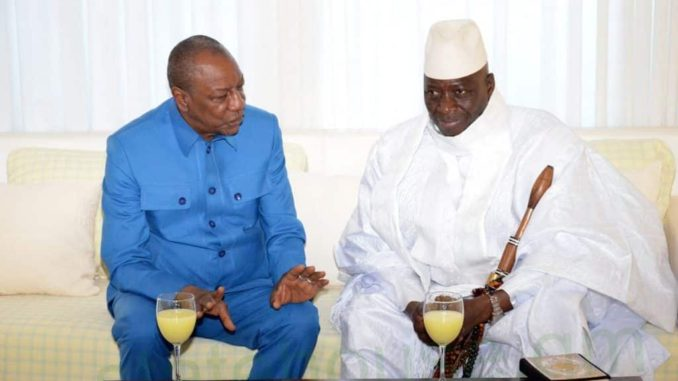 Jammeh and Guinean President Conde