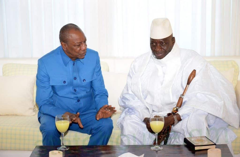 Former Gambian Dictator Jammeh May Leave Gambia Tonight For Guinea! -