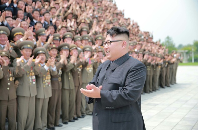 Kim, pictured, is accused of being responsible for extra-judicial killings, torture and using forced labor
