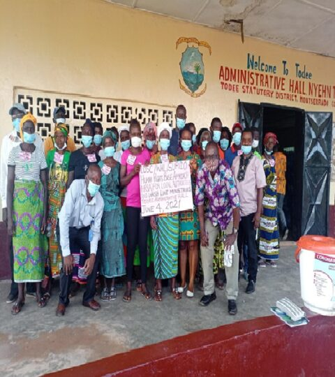 LIBERIA: SURIDO Trained 90 Todee Residents- Amid Safe Wash Challenges - Global News Network