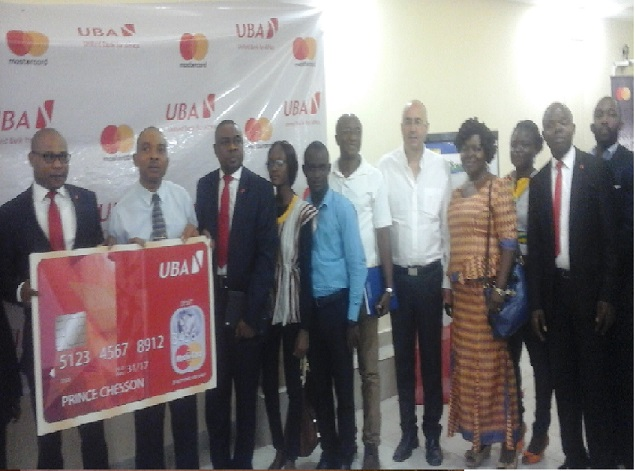 UBA Liberia Launches Master Card System, As Customers Overwhelm Of This Initiative -