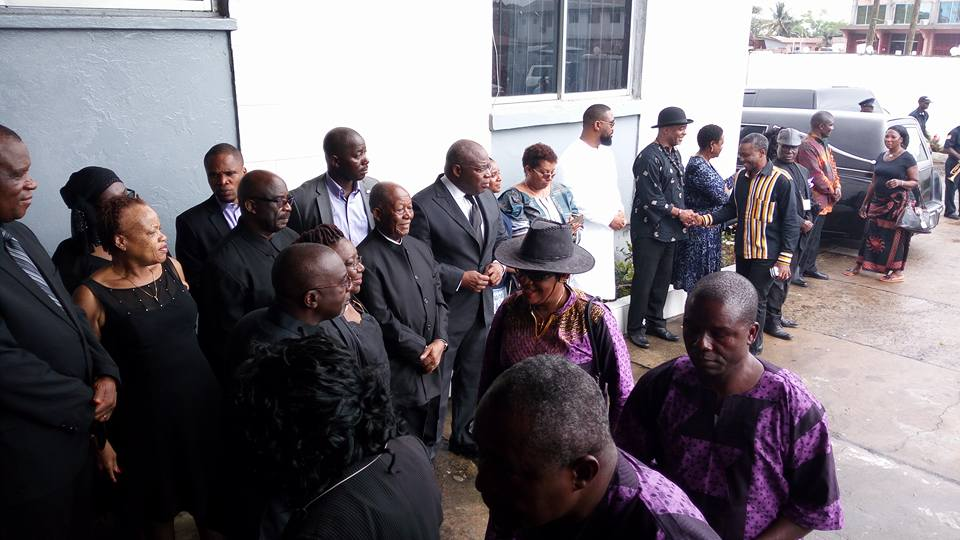 Another Scene from the Funeral