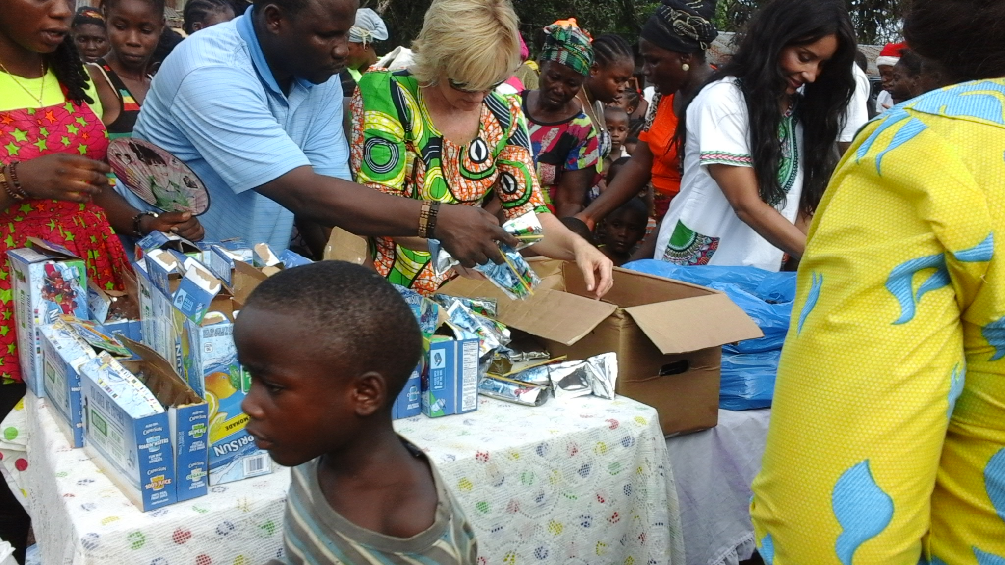 Another scene from the distribution