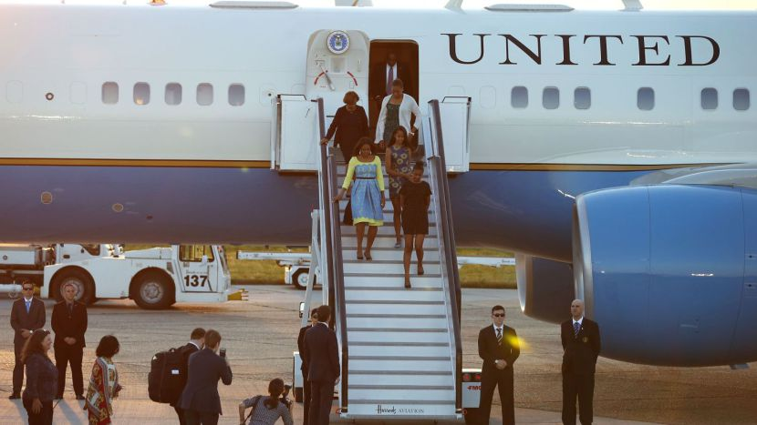US First Lady, Mother and Daughters Arrives In Liberia Monday