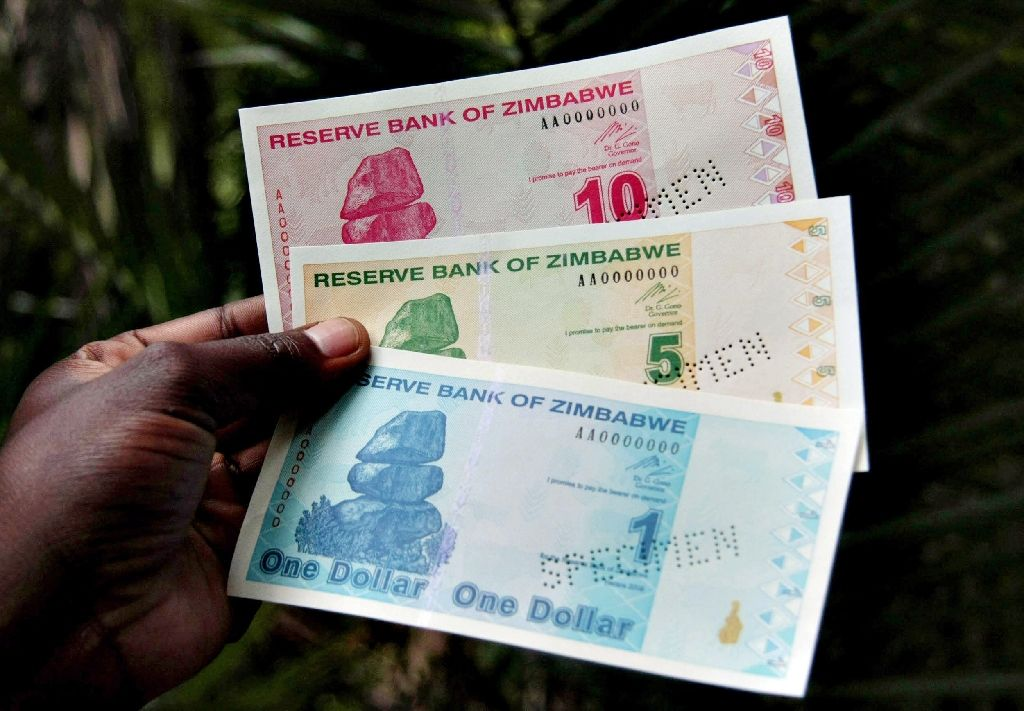 Zimbabwe adopted the US dollar and South African rand in 2009 after inflation rendered the lo
