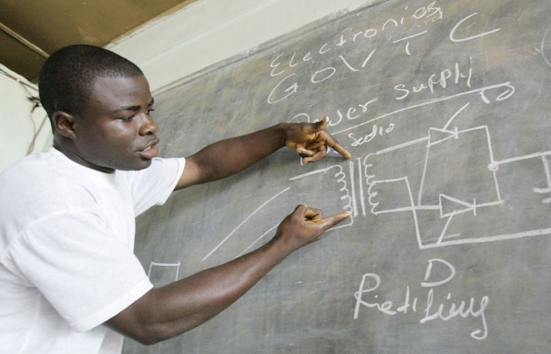 One of the Students who helped in the absence of teacher in his school