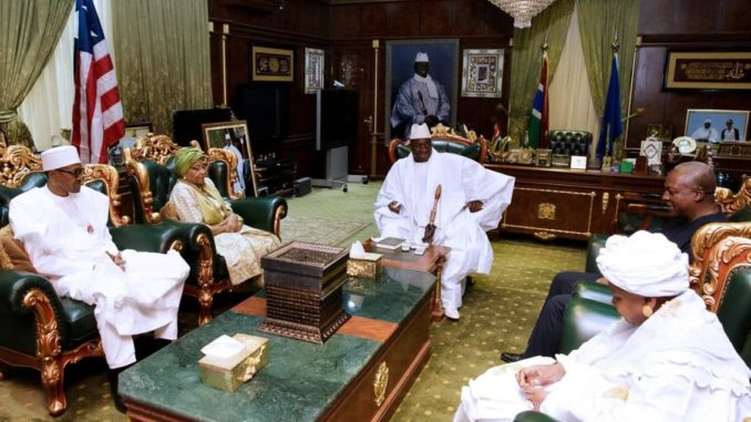 Gambia's defiant dictator Yahya Jammeh, has been briefing his countrymen about the outcome of the ECOWAS delegation, who paid a visit to him over the weekend at the State House in Banjul. Mr. Jammeh maintains that the...