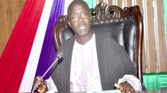 Speaker Bojan of the Gambian Parliament