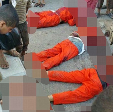 Four Syrian footballers have been beheaded by ISIS in Raqqa (GRAPHIC IMAGES)