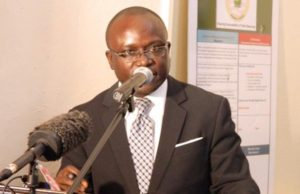 Hon. Patrick Sendolo, Liberia's Minister of Lands, Mines and Energy