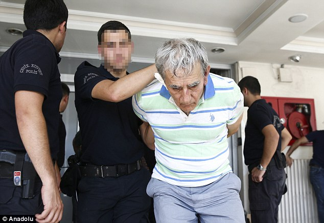 General Ozturk was quoted as having told interrogators that he 'acted with intention to stage a coup'