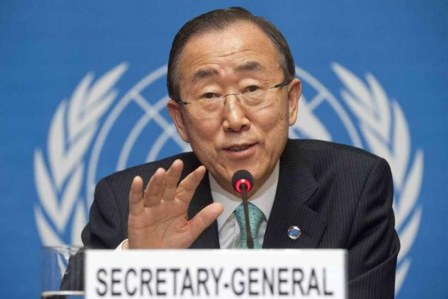 UN Secretary General, Ban Ki-Moon