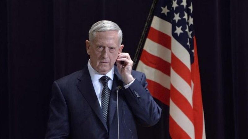 U.S. Defense Secretary James Mattis ( David Mareuil - Anadolu Agency ).