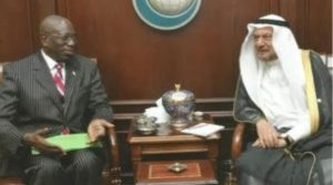Ambassador Kaba and the Secretary General of the OIC, Mr. Madani