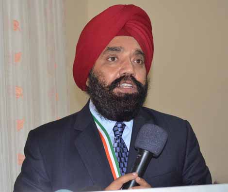 Indian Consul General to Liberia, His Excellency Upjit Singh Sachdeva