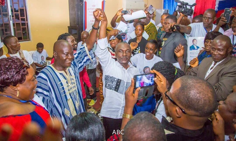 ABC Officially Announces Ambassador Jeremiah Suluteh As His Running Mate -
