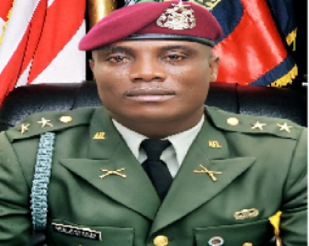 Liberia Armed Forces Inducts The Youngest, Scott Amos Collins As Officer Cadet -