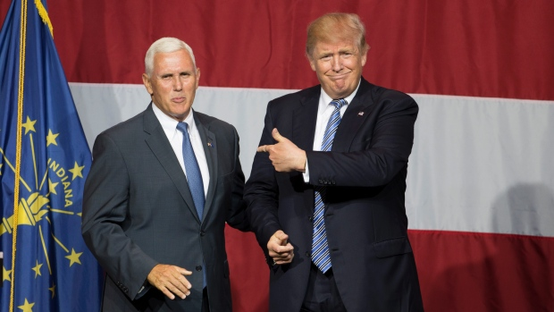 Donald Trump selects Mike Pence as running mate