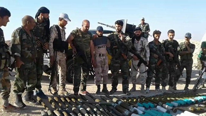 Footage Shows Terrorists Weapons Convoy Captured by Syrian Army