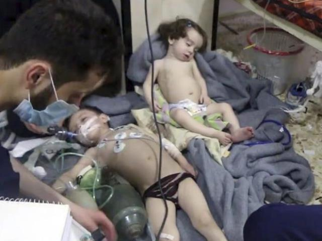 USA allies warn of action on suspected Syria chemical attack