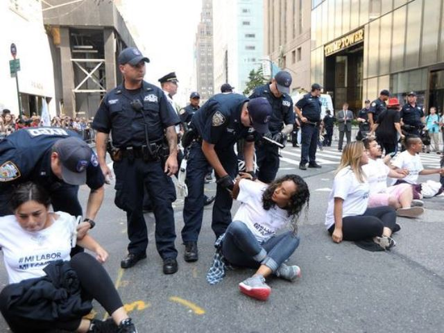 Three Congressmen Arrested For 'Civil Disobedience' Outside Trump Tower