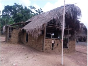 On of the schools in Garyea, Yellequelleh District, Bong County