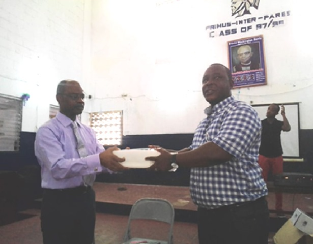 B.W. Harris Alumni-USA Gives Back …Donates Several Educational Materials -