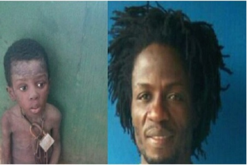 Korede (son) and his father, Francis Taiwo respectively