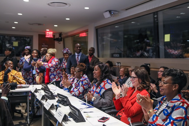 """It's Time to Move Beyond Advocacy"" – Liberia's First Lady Tells Event on Gender Equality and Empowerment of Rural Women and Girls -"