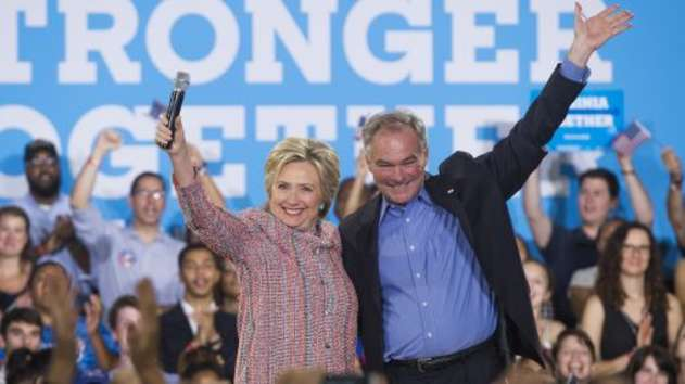 Democrat Hilary Clinton picks Kaine as vice presidential running mate